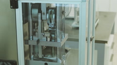 Stock Video Footage of apparatus for the manufacture of tablets