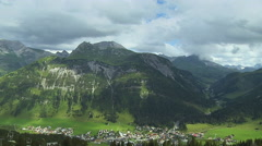 Time Lapse At Lech, Austria Stock Footage