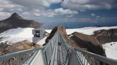 Peak Walk bridge Stock Footage
