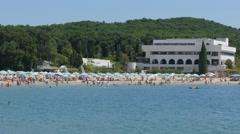 Pearl Beach Bulgaria Stock Footage