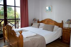 Double Bed In The Bedroom Stock Photos