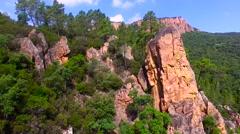 Gorges du Blavet Stock Footage