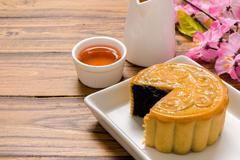 Dessert for Tea / Dessert for Tea Background / Chinese Dessert for Tea Break Stock Photos