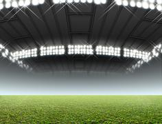 Indoor Stadium Generic - stock illustration