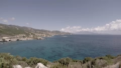 Ionian Sea, Zakynthos, Greek island. Stock Footage