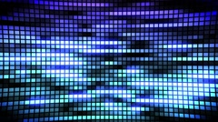 Random LED SCREEN background with bright lights loopable Stock Footage