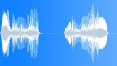 Cartoon raindeer munching grunt Sound Effect