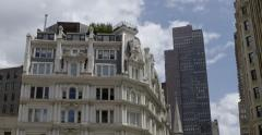 Gilsey House, 1200 Broadway in Manhattan Stock Footage