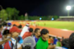 Fans Cheering at football stadium (defocused) Kuvituskuvat