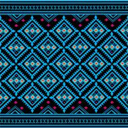Geometric Ethnic pattern Stock Illustration