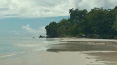 Beau Vallon at island Mahe, Seychelles. Stock Footage