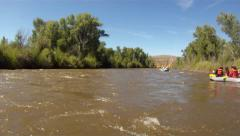White water rafting on the Gunnison river 2 of series Stock Footage