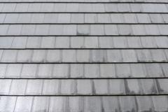 roofing tiles - stock photo