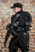 Special forces operator - stock photo