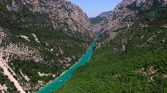 Gorges du Verdon Stock Footage