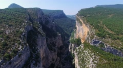 Point Sublime - Gorges du Verdon Stock Footage