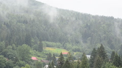 Steam after a rain Stock Footage
