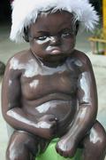 Baby Doll Upset - stock photo