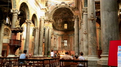 Baroque church of San Giuseppe dei Teatini Stock Footage