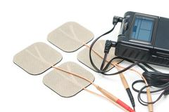 Medical equipment for Physical therapy,  Tens Unit - stock photo