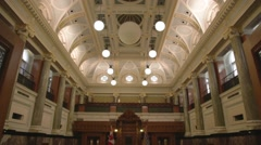 BC Legislature Chamber - stock footage