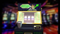 Stock Market Slot Machine Gambling Stock Footage