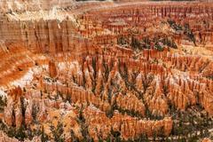Stock Photo of Amphitheater Hoodoos Inspiration Point Bryce Canyon National Park Utah