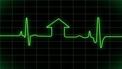 Heart beat video footage - stock footage