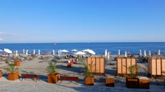 Beach Olympic Park, Sochi, Russia. 1280x720 Stock Footage