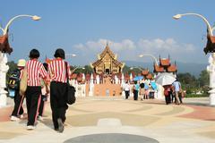 Chiang Mai Royal Flora Garden - stock photo