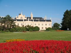 Chateau Lednice Stock Photos