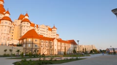 Stock Video Footage of Hotel Bogatyr. Sochi-Park  Adler, Russia. 1280x720