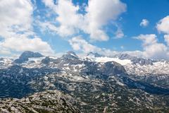 Dachstein Mountains - stock photo