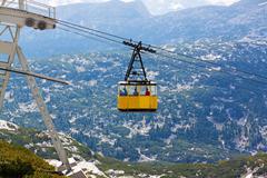 Dachstein Ropeway Gondola - stock photo