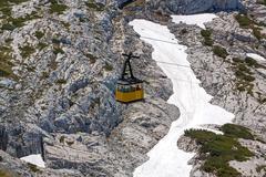 Dachstein Ropeway Gondola Stock Photos