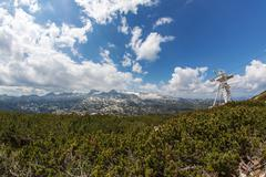 On Top of Dachstein - stock photo