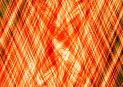 Abstract orange cross lines pattern - A3 and derived dimensions - stock illustration