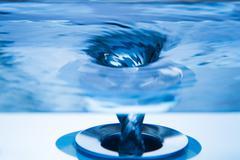 Whirlpool - Vortex - Maelstrom Stock Photos
