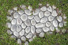 Close up of Stone Pathway Stock Photos