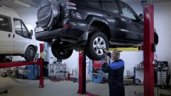 Stock Video Footage of car repair service ready clip