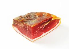 Prosciutto crudo - Italian dry-cured ham - stock photo