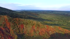 New Mexico mountain aerial video 6 Stock Footage