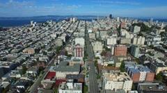 Aerial video San Francisco Stock Footage
