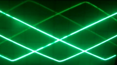 Varios lines electronics color green Stock Footage