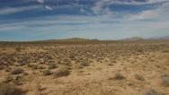 Stock Video Footage of Aerial desert in California