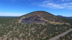 Aerial video of a mountain in Arizona 2 - stock footage