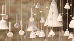 Chimes swaying in the wind Arkistovideo