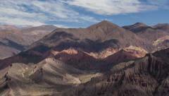 Quebrada De Humahuaca 01 Time Lapse (Jujuy, Argentina) Stock Footage