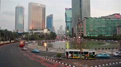 Plaza Indonesia in Jakarta Stock Footage