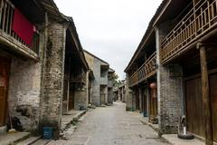 xingping old town - stock photo